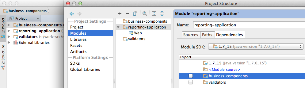 JRebel How-to: Setting up multi-module projects in IntelliJ