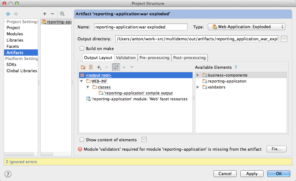 JRebel How-to: Setting up multi-module projects in IntelliJ IDEA