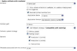 Continuous Delivery using Jenkins, Nexus & LiveRebel | JRebel com