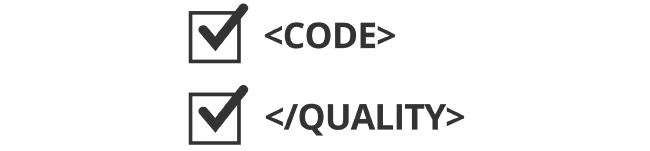 image of code analysis checklist for code and quality