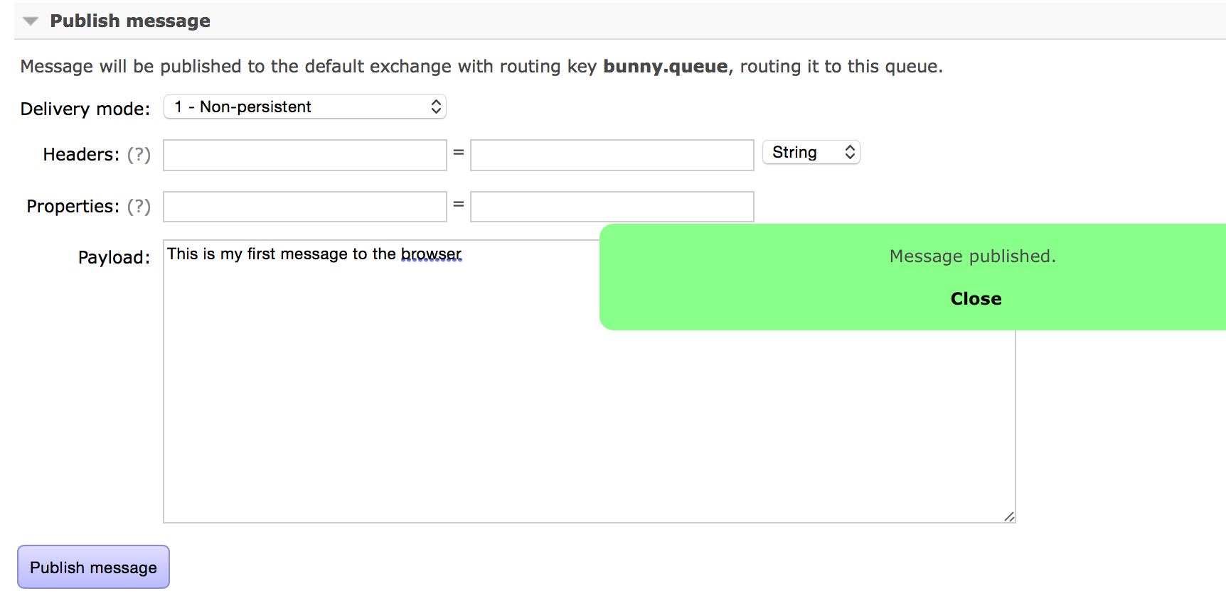 Vert x Websockets Message queue to the browser | JRebel com